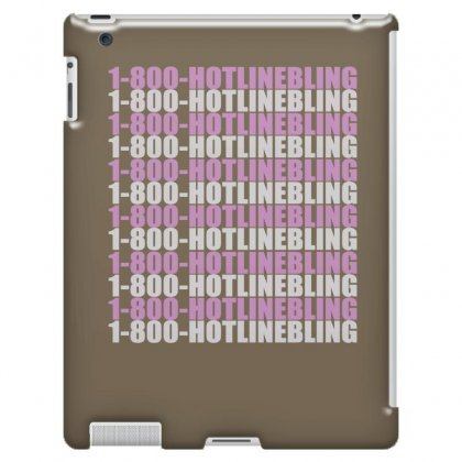 1800 Hotlinebling Ipad 3 And 4 Case Designed By Killakam