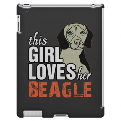 This Girl Loves Her Beagle Ipad 3 And 4 Case Designed By Killakam