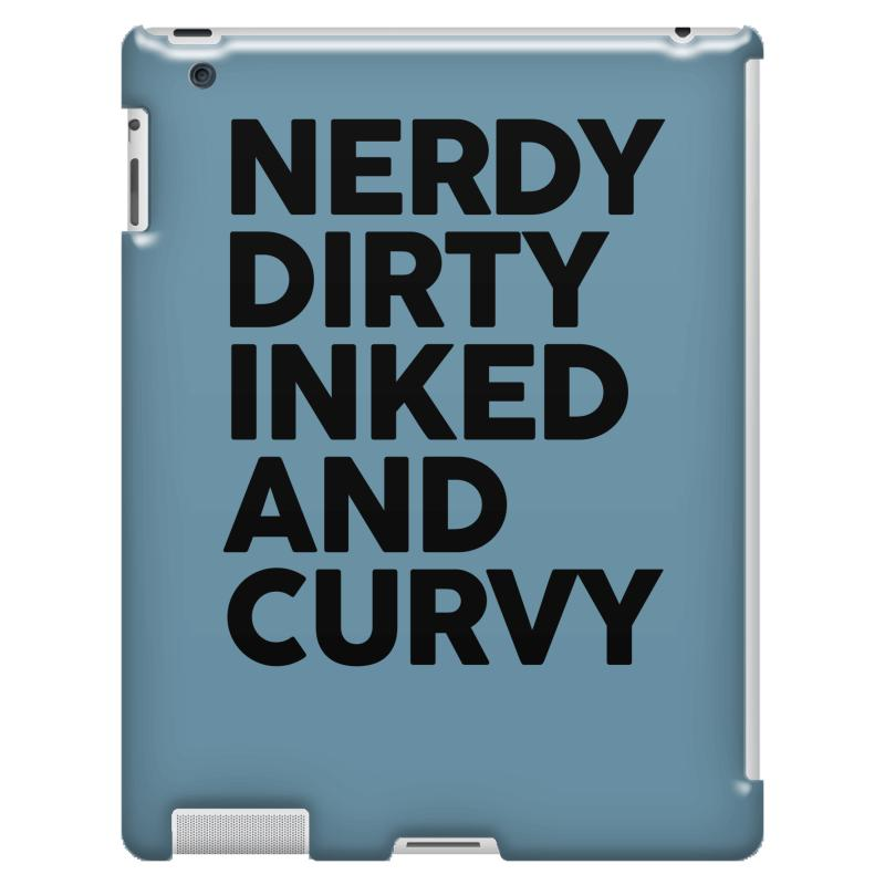 Nerdy Dirty Inked And Curved Ipad 3 And 4 Case  By Artistshot