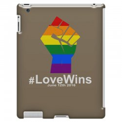 Love Wins 12th 2016 - Orlando Strong iPad 3 and 4 Case | Artistshot