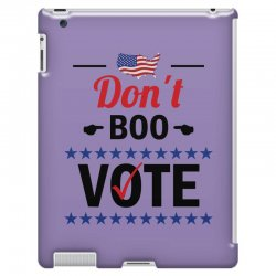 Dont Boo. Vote. iPad 3 and 4 Case   Artistshot