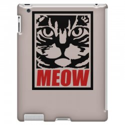 funny cat meow iPad 3 and 4 Case   Artistshot