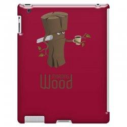 funny morning wood iPad 3 and 4 Case | Artistshot