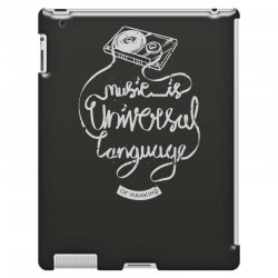 music is the universal language of mankind iPad 3 and 4 Case | Artistshot