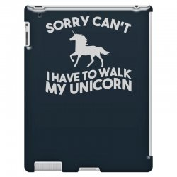 unicorn, television, funny, geek, humour, parody, retro iPad 3 and 4 Case | Artistshot