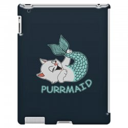 funny purr maid cat mermaid iPad 3 and 4 Case | Artistshot