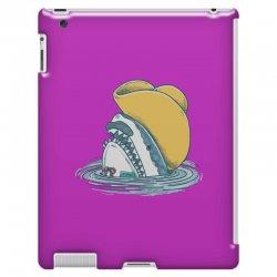 funny hat shark iPad 3 and 4 Case   Artistshot