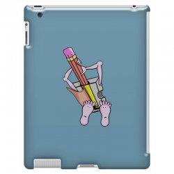Funny cartoon pencil sharpener iPad 3 and 4 Case   Artistshot