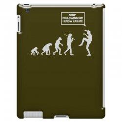 funny karate evolution iPad 3 and 4 Case   Artistshot