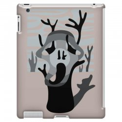the tree's scream iPad 3 and 4 Case | Artistshot