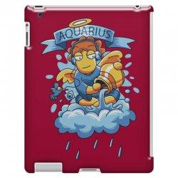 FUNNY ZODIAC SIGNS AQUARIUS iPad 3 and 4 Case | Artistshot
