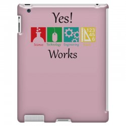 yes work science iPad 3 and 4 Case | Artistshot
