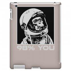 funny monkey astronomy iPad 3 and 4 Case | Artistshot