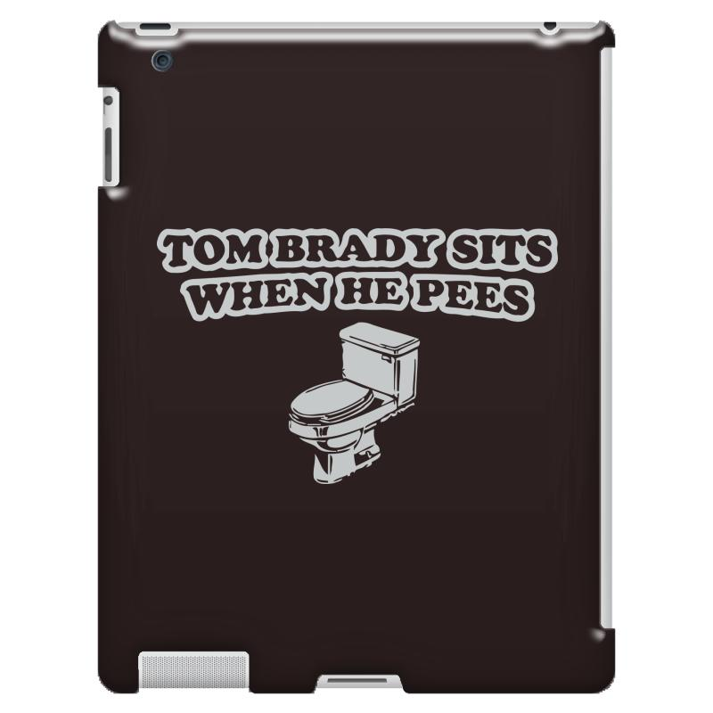 1d386ab7 indianapolis colts t shirt tom brady sits when he pees funny jersey andrew  luck iPad 3 and 4 Case