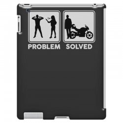 funny biker iPad 3 and 4 Case   Artistshot