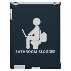 funny bathroom blogger iPad 3 and 4 Case | Artistshot
