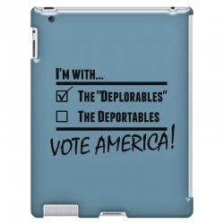Deplorables America iPad 3 and 4 Case | Artistshot