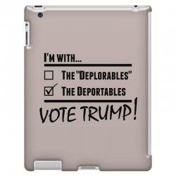 Donald Trump Deportables iPad 3 and 4 Case | Artistshot