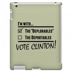 Hilary Clinton Deplorables iPad 3 and 4 Case | Artistshot