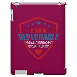 I Am A Deplorable iPad 3 and 4 Case | Artistshot