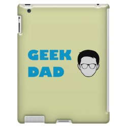 geek dad iPad 3 and 4 Case | Artistshot