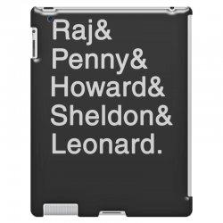 big theory list iPad 3 and 4 Case | Artistshot