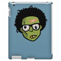 geek zombie head funny iPad 3 and 4 Case | Artistshot