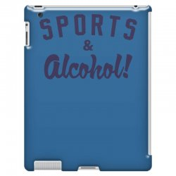 sports and alcohol! iPad 3 and 4 Case | Artistshot