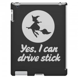 yes, i can drive stick iPad 3 and 4 Case | Artistshot