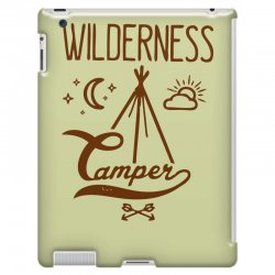 wilderness camper iPad 3 and 4 Case | Artistshot