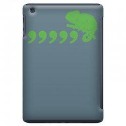 59eaaf165 Custom Comma Chameleon Funny Ipad Mini Case By Mdk Art - Artistshot