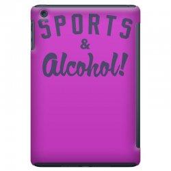 sports and alcohol! iPad Mini Case | Artistshot