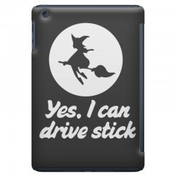 yes, i can drive stick iPad Mini   Artistshot