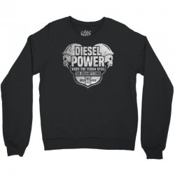Diesel Power Crewneck Sweatshirt | Artistshot