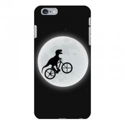 Dinosaur Riding A Bike To The Moon iPhone 6 Plus/6s Plus Case | Artistshot