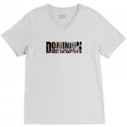 Dominion V-Neck Tee   Artistshot