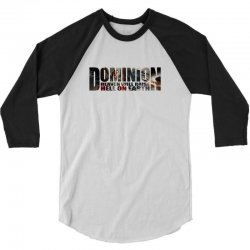 Dominion 3/4 Sleeve Shirt   Artistshot
