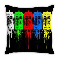 tardis dr who Throw Pillow | Artistshot