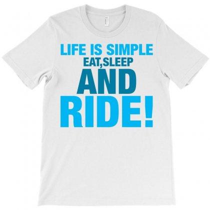Eat Sleep Ride T-shirt Designed By Tshiart