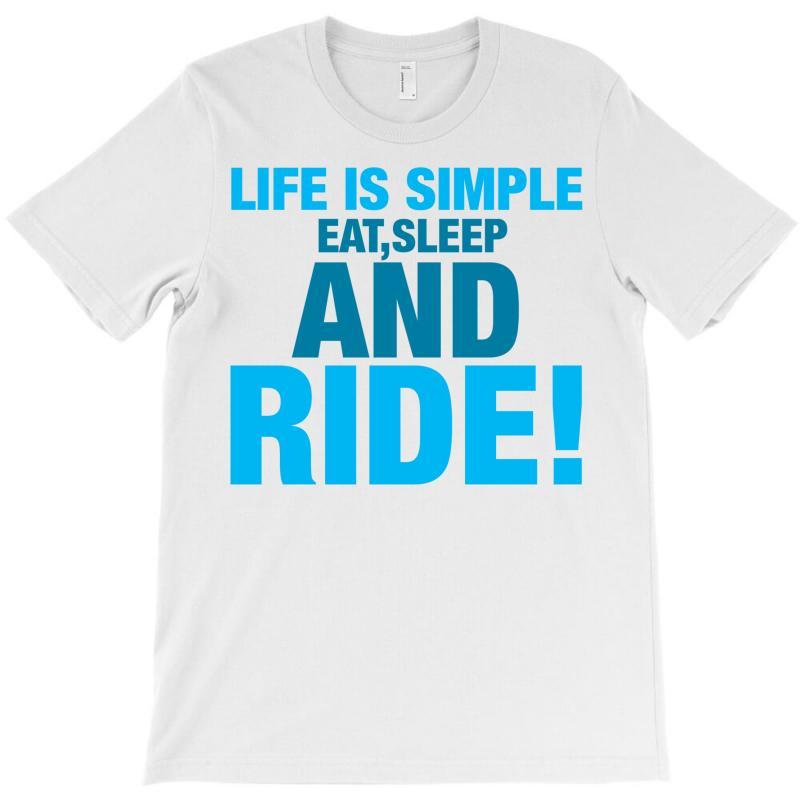 Eat Sleep Ride T-shirt | Artistshot