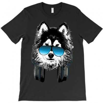 Huskie Music T-shirt Designed By Sbm052017