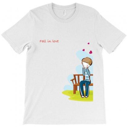 Fall In Love T-shirt Designed By Tshiart