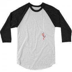 Fishing 3/4 Sleeve Shirt   Artistshot
