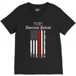 Free Since 1776 - American Patriot V-Neck Tee | Artistshot