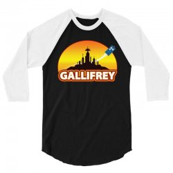 Gallifrey 3/4 Sleeve Shirt | Artistshot
