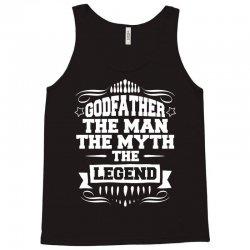 Godfather The Man The Myth The Legend Tank Top   Artistshot