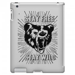 Stay Free Stay Wild iPad 3 and 4 Case | Artistshot