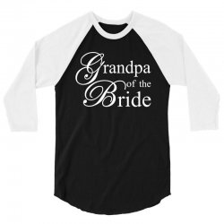 Grandpa of the bride 3/4 Sleeve Shirt | Artistshot