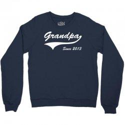 Grandpa since 2013 Crewneck Sweatshirt | Artistshot