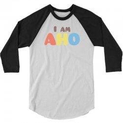 Yuru Yuri: I am AHO 3/4 Sleeve Shirt | Artistshot